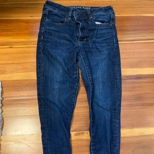 AE Dark Blue Skinny Jeans (8S)
